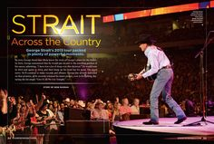 George Strait's Tour Across the Country
