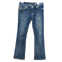 "MISS ME womens jeans JP5009R boot cut Preloved but still in good condition. Obvious wear on hems. Inseam - 31"" Miss Me Jeans Boot Cut"