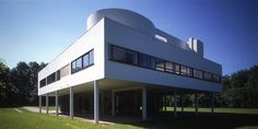 Villa Savoye, by Corbusier (completed 1931) this architect continues to influence me everyday