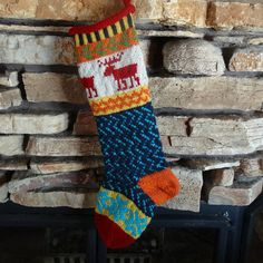 Christmas Stocking with Moose for that favorite guy in your life!