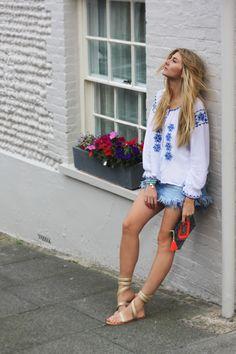 Boho Beach-to-Street Style, the ultimate bohemian dream team Aspiga & Boho Betty blog post Boho Beach Style, Dream Team, Bb, Bohemian, Street Style, Photo And Video, Instagram, Urban Style, Street Style Fashion