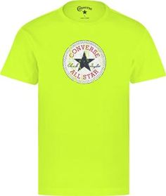 Converse All Star Authentic T-Shirt neon gelb