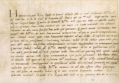 FULL TRANSLATION of Henry VIII's letter requesting a divorce from Katherine of Aragon, 1529