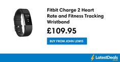 Fitbit Charge 2 Heart Rate and Fitness Tracking Wristband, £109.95 at John Lewis