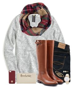 """""""DC Contest❤️"""" by chevron-elephants ❤ liked on Polyvore featuring J.Crew, Abercrombie & Fitch, Burberry, Lord & Taylor, Kate Spade, Tory Burch and EJandAKTakeDC"""