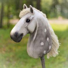 """Gaspard"", a Percheron hobbyhorse by Eponi Hobbyhorses. Horse Bridle, Horse Stables, Stick Horses, Hobby Horse, Draft Horses, Horse Photos, Horse Breeds, Horse Care, Horse Riding"