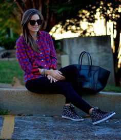 The Quarter Life Closet: Fall Mix: Flannel and Leopard