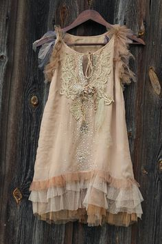 Arenas brillantes túnica Top-extravagante vestido bohemio