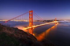Gold and Blue Hour by Matthew Crowley on 500px