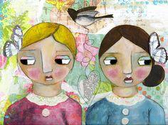Bosom Friends by DanielleDaniel on Etsy,