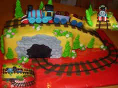 cake train dort mašinka Tomáš