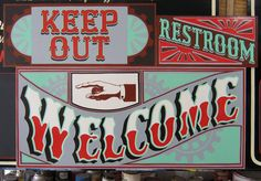 Hand painted sign by New Bohemia Signs, San Francisco