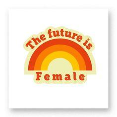 """""""The Future Is Female""""  pela incrível Renata Rodrigues! . Disponível em camiseta e moletom no site (link na bio)  #artetododia #movidoapessoasincriveis"""