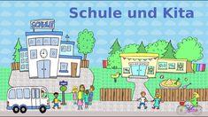 Deutsch lernen:  Schule und Kita - Schüler / Lehrer / Eltern / Erzieher - learn German: school - YouTube