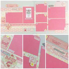 Authentique Cuddle GirlBest site for scrapbook layouts ever!   www.scrapbookstation.com