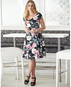 Floral Prom Dress at Simply Be
