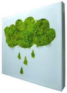preserved moss wall art -