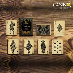 The first written mention of Blackjack comes from a famous pen. ✍️ Blackjack (of course, under another name) in his short stories mentions the author Don Quijot, Miguel de Cervantes Saavedra 🐎 Casino Card Game, Don Quixote, Online Casino, Short Stories, Card Games, Playing Cards, Valentines, Instagram Posts, Social Media