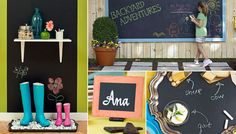 7 Ways to Use Chalkboard Paint