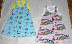 Sommerkleid aus Jersey Gr. 98/104