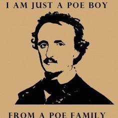 Poe.. lol Poe