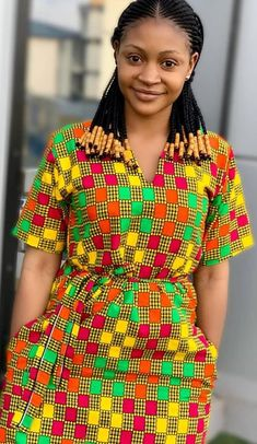 African Dresses: Fashionable African Wear Styles in 2020 – Africavarsities African Fashion Ankara, Latest African Fashion Dresses, African Print Fashion, Dress Fashion, African Women Fashion, Ghana Fashion, Fashion Outfits, Kente Dress, Ankara Dress Styles