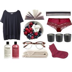 """A Raspberry Morning"" by x-khloe-x on Polyvore"