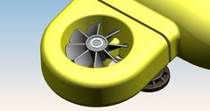 ERAV rotor (1 of 4) in venturi-shape housing to obtain maximum propulsion
