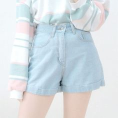 746 Likes, 1 Comments - Kawaii Tee Shop Pastel Fashion, Kawaii Fashion, Cute Fashion, Teen Fashion, Korean Fashion, Aesthetic Fashion, Aesthetic Clothes, Blue Aesthetic, Cute Casual Outfits