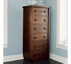 Sumatra Tower Dresser / For Guest Bedroom