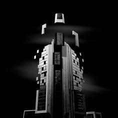 B&W Surreal Photographs Architectural Deconstruction. By Daniel Garay Arango.
