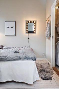 Distribución en un dormitorio pequeño... ¡Con vestidor! | Decorar tu casa es facilisimo.com