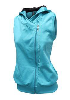 R16514 - Chaleco deportivo mujer cruzado - #sportwear