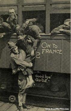 WWI sweetheart postcard