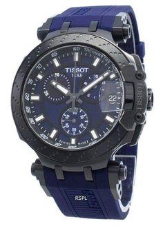 Tissot T-Race Chronograph Quartz Herrklocka - citywatches. Watch Companies, Watch Brands, Tissot T Race, Le Locle, Stainless Steel Case, Chronograph, 100m, Watches For Men, Quartz