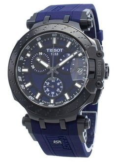Tissot T-Race Chronograph Quartz Herrklocka - citywatches. Cool Watches, Watches For Men, Tissot T Race, Le Locle, Rubber Watches, Best Watch Brands, Online Watch Store, Watch Companies, Casio Watch