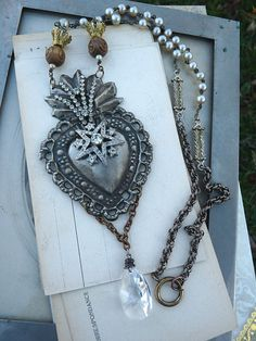 heart on a necklace - love!