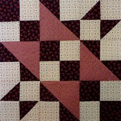 Kathy's Quilts: Chocolate Covered Strawberries Block 2