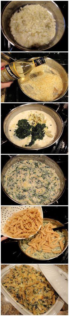 Spinach & Artichoke Mac 'N' Cheese