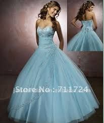 blue ball gown - Google Search