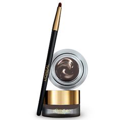 L'Oreal's Eye Product Recommendations for me: Infallible® Lacquer Liner 24H Bronze & Voluminous® Power Volume 24H Mascara WS Black Brown.