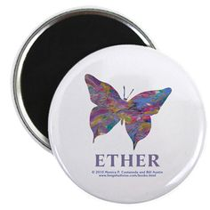 Ether Element Butterfly Magnet