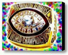 Washington redskin super bowl ring