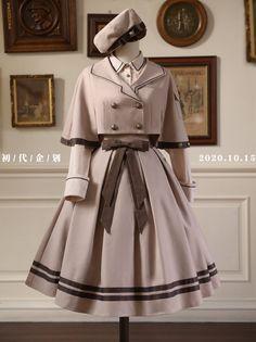 Cosplay Dress, Cosplay Outfits, Old Fashion Dresses, Fashion Outfits, Fashion Drawing Dresses, Mode Lolita, Kawaii Clothes, Kawaii Dress, Character Outfits
