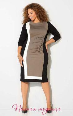 Платья для полных женщин американского бренда Avenue, осень-зима 2016-2017