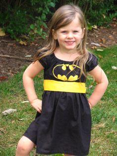 Girls Super-Hero Batgirl Play Dress