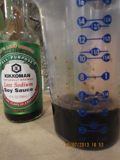 Lo Mein Sauce (Marinade) #chinese