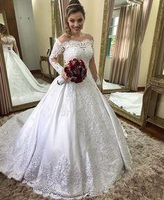 Beautiful Bride, Beautiful Dresses, Wedding Frocks, Amazing Wedding Dress, Wedding Bride, Bridal Dresses, Marie, Happy Marriage, Marriage Tips