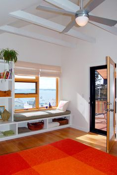 Window Seat With Storage Design Ideas, Pictures, Remodel, And Decor