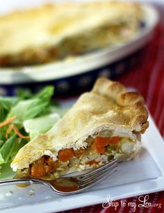 Easy make ahead chicken pot pie recipe #recipe #dinner #idea skiptomylou.org